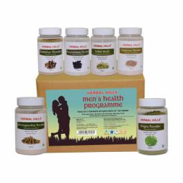 Herbal Hills Men's Health Programme, 100gm (Pack Of 6)
