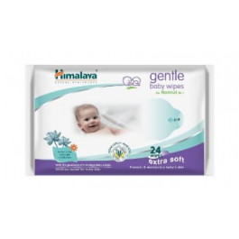 Himalaya Gentle Baby, 24 Wipes