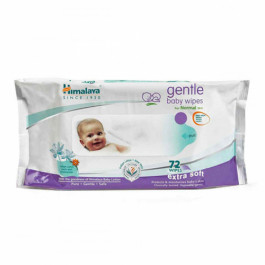 Himalaya Herbals Gentle Baby, 72 Wipes