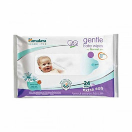 Himalaya Soothing Baby, 24 Wipes
