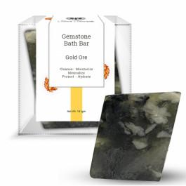 Seer Secrets Gold Ore Gemstone Bath Bar, 160gm