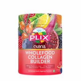 Plix Olena Plant-Based Wholefood Collagen Builder Watermelon Flavour, 200gm