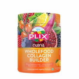 Plix Olena Plant-Based Wholefood Collagen Builder Orange Flavour, 200gm