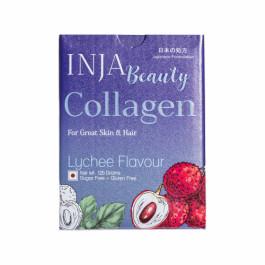 INJA Beauty Collagen Lychee, 125gm