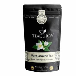 Teacurry Jasmine Flower Tea, 30 Tea Bags