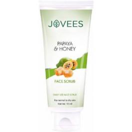 Jovees Papaya & Honey Scrub, 50gm