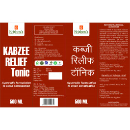 Krishna's Kabzee Relief Juice, 500ml