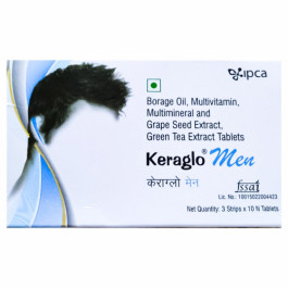 Keraglo Men, 10 Tablets