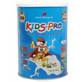 Kids-Pro Vanilla Powder, 200gm