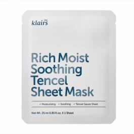 Klairs Rich Moist Soothing Tencel Sheet Mask, 25ml
