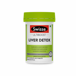 Swisse Ultiboost Liver Detox Supplement, 60 Tablets