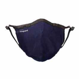 Livinguard Face Mask Pro  (Medium) - Blue