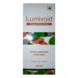 Lumivoid Depigmenting Cream, 15gm