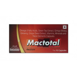 Mactotal Tablets, 10 Tablets
