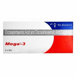 Mega-3, 30 Capsules