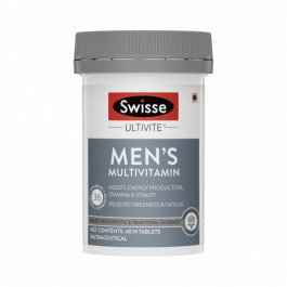 Swisse Ultivite Men's Multivitamin Supplement, 60 Tablets