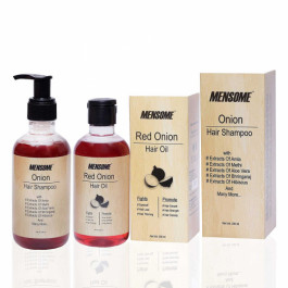Mensome Onion Hair Oil and Onion Hair Shampoo, 200ml