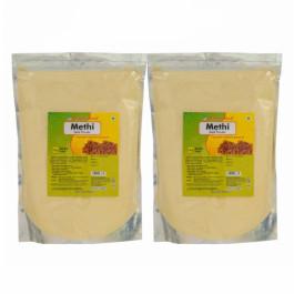 Herbal Hills Methi Seed Powder, 1Kg  ( Pack Of 2)