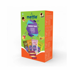 Mettle Assorted Energy Bar, 35gm (Pack Of 12)