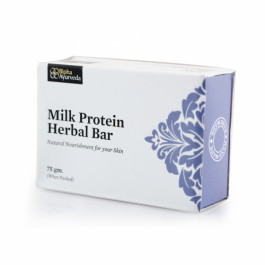 Bipha Ayurveda Milk Protein Herbal Bar, 75gm