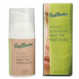 Paul Penders Avocado & Cranberry Night Time Moisturizer, 30gm