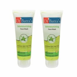 Dr Batra's Moisturizing Facewash, 100ml (Pack Of 2)