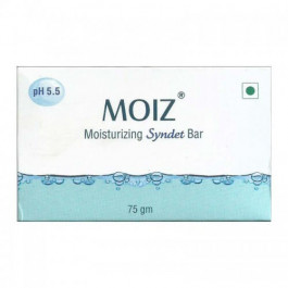 Moiz Moisturizing Syndet Bar, 75gm