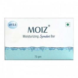 Moiz Moisturizing Syndet Bar, 75gm
