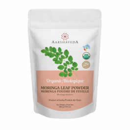 Aarshaveda Organic Moringa Leaf Powder, 200gm