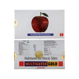 Multigates Gold, 10 Tablets