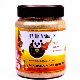 Healthy Panda Multigrain Dry Fruit Malt -Daily Nutrition Drink, 250gm