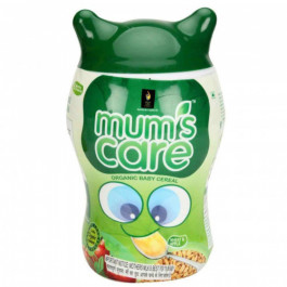 Mum's Care Wheat and Apple Organic Baby Cereal, 300gm