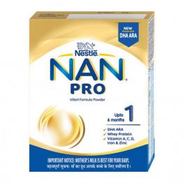 Nan Pro Stage 1 Infant Formula Refill Pack, 400gm