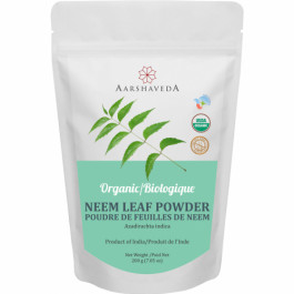 Aarshaveda Organic Neem Leaf Powder, 200gm
