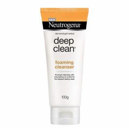 Neutrogena Deep Clean Foaming Cleanser, 100gm