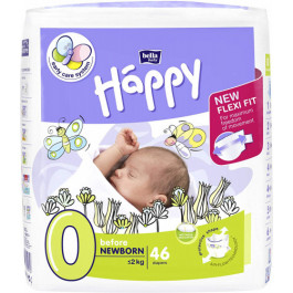 Bella Baby Happy Diapers Before Newborn, 46 Pieces