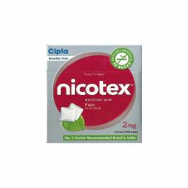 Nicotex 2mg Paan Flavour Sugar Free Gums, Pack Of 3