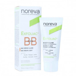 noreva Exfoliac Tinted BB Cream Light, 30ml