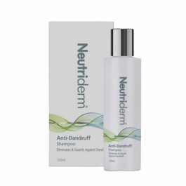 Neutriderm Anti Dandruff Shampoo, 120ml