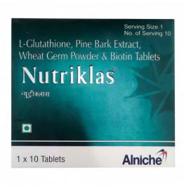 Nutriklas, 10 Tablets
