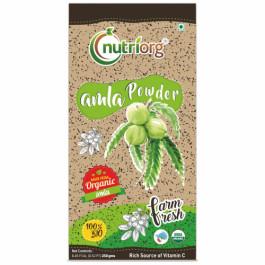 Nutriorg Organic Amla Powder, 250gm