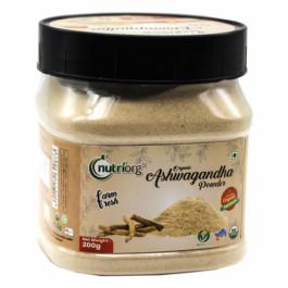 Nutriorg Organic Ashwagandha Powder, 200gm