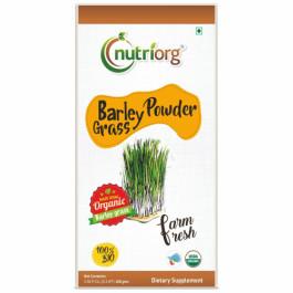 Nutriorg Organic Barley Powder, 100gm