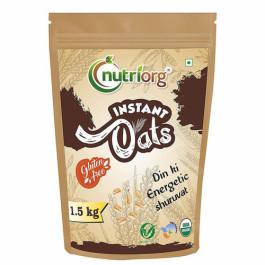 Nutriorg Organic Instant Oats, 1500gm