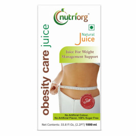 Nutriorg Obesity Care Juice, 1000ml