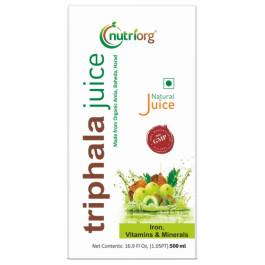 Nutriorg Triphala Juice, 500ml