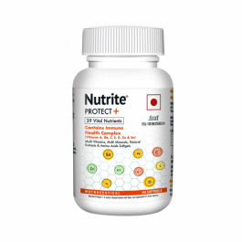 Nutrite Protect Plus Multivitamins with Immunity Booster Health Complex Formula, 60 Softgels