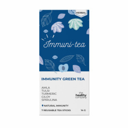 The Healthy Company One Week Immunity Green Tea, 14 Tea Sticks