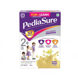PediaSure Vanilla Delight Refill Pack, 400gm