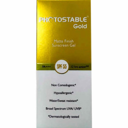Photostable Gold Sunscreen Gel, 50gm